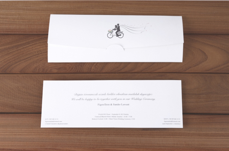 Portfolio greeting card invitation moludsgn ltd exclusive wedding invitation design for figen sander 2012 stopboris Image collections
